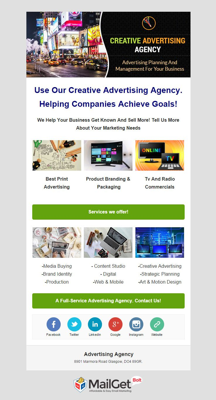 Email Marketing For Advertising Agencies
