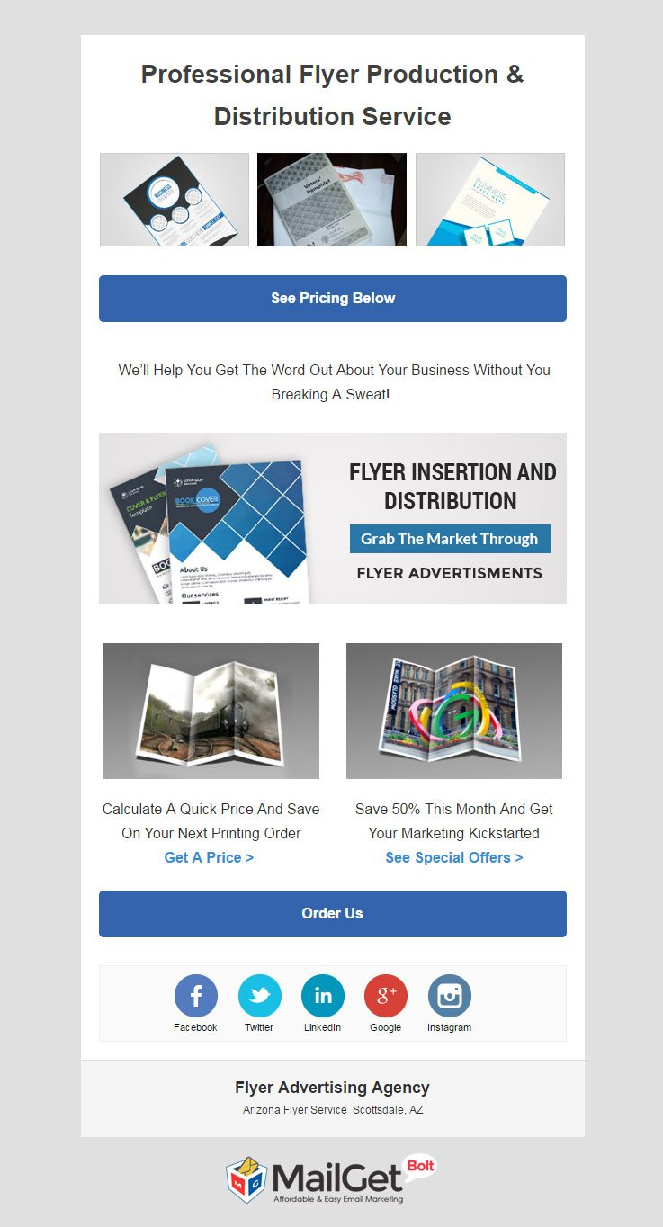 Email Marketing For Flyer Advertising Companies