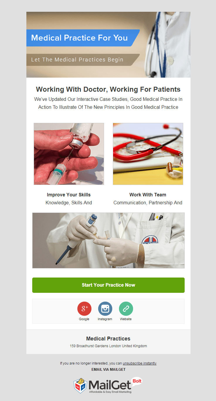 Email Marketing For Medical Services