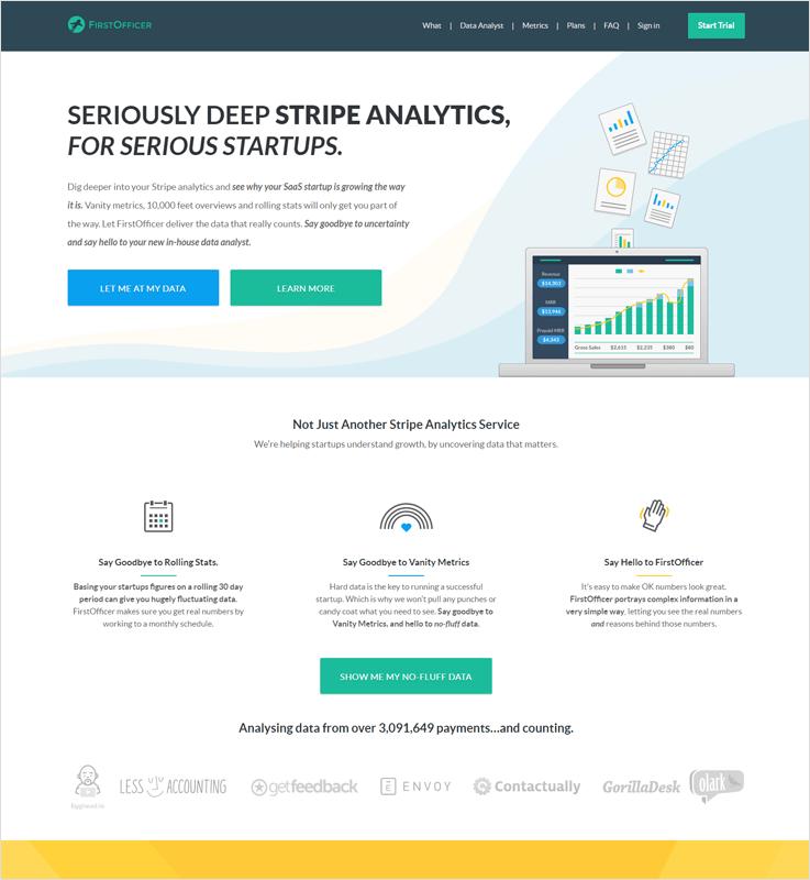 FirstOfficer1 Best Stripe Payment Analytics Software