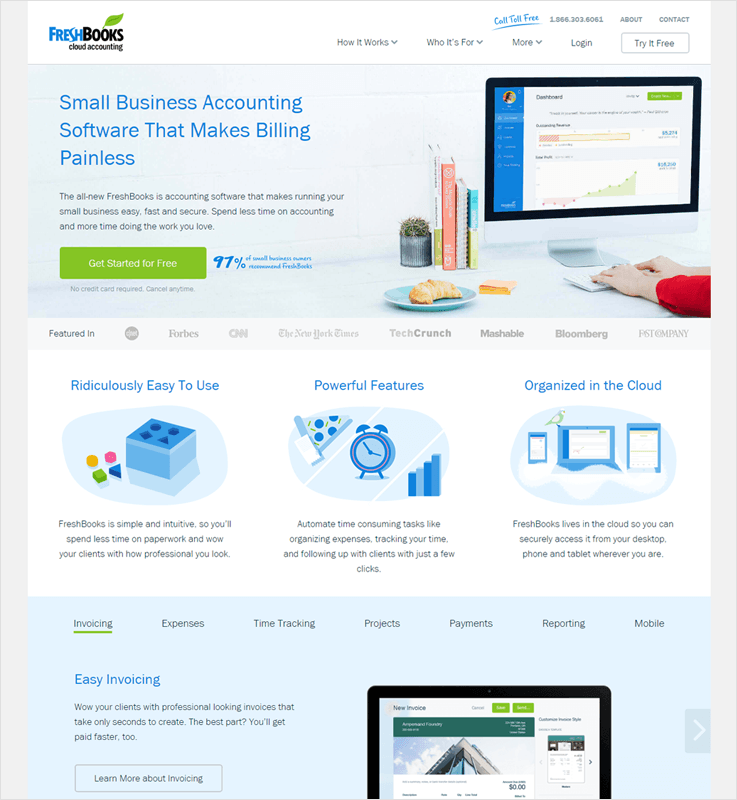 FreshBooks Customer Billing Management Solutions