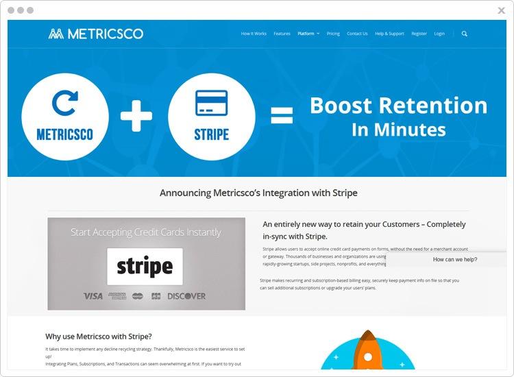 Metricsco Best Stripe Analytics Software