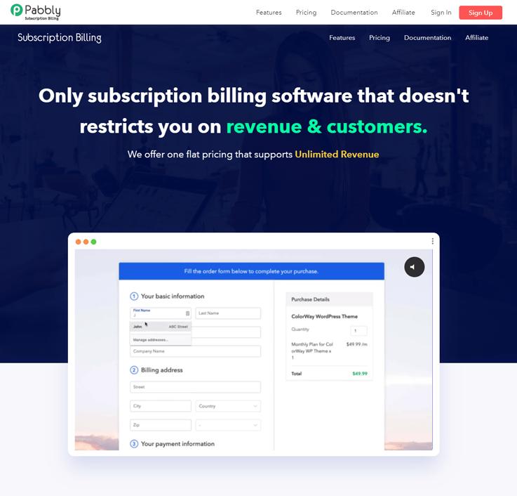 Subscription Management Software