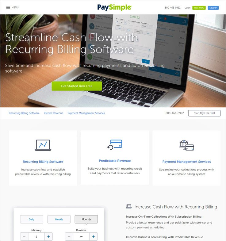 Cheapest Recurring Billing Software