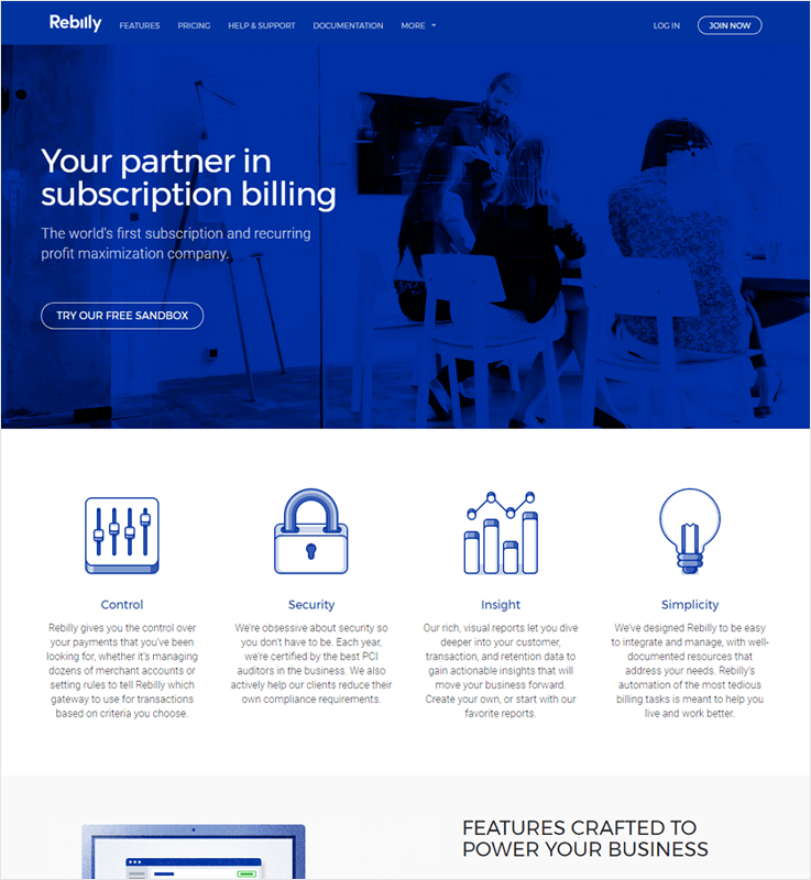 Rebilly Subscription Billing Platforms