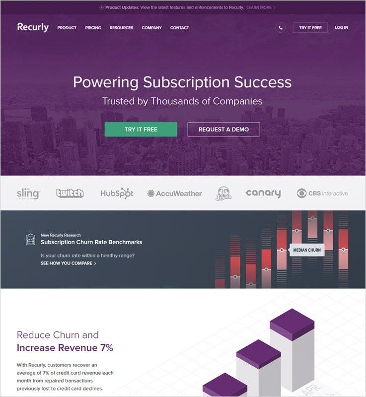 Best Subscription Management Software by Recurly