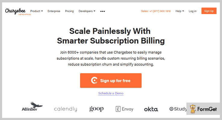 Chargebee Recurring Billing Software