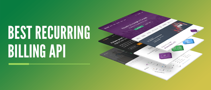 Recurring billing api