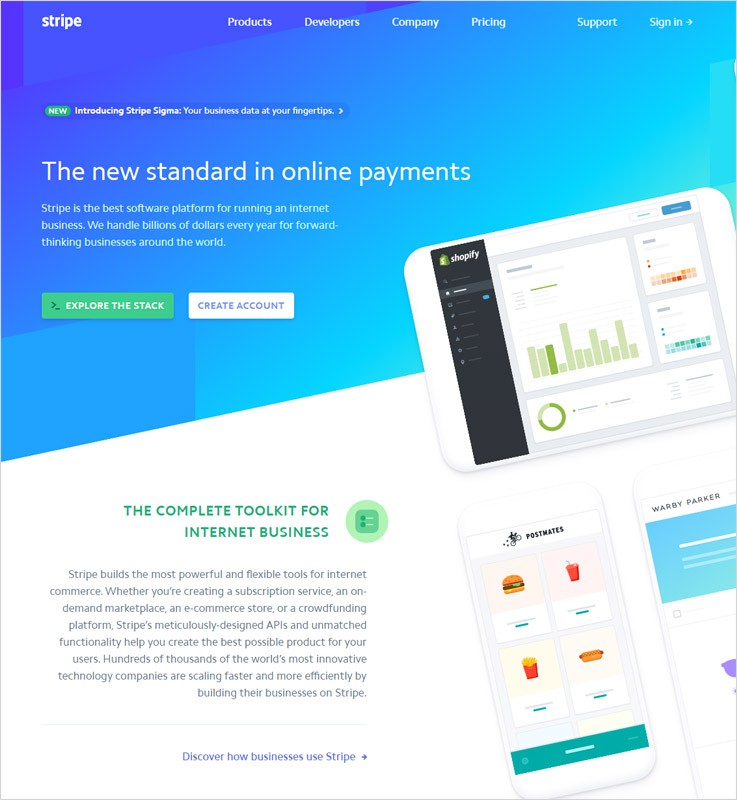 Subscription Management Software by Stripe