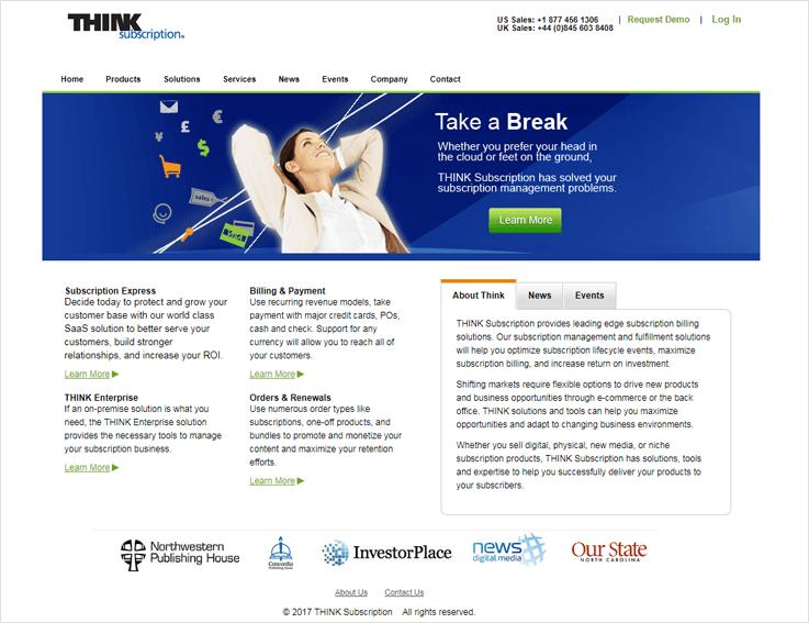 THink Subsciption Customer Billing Management Solutions