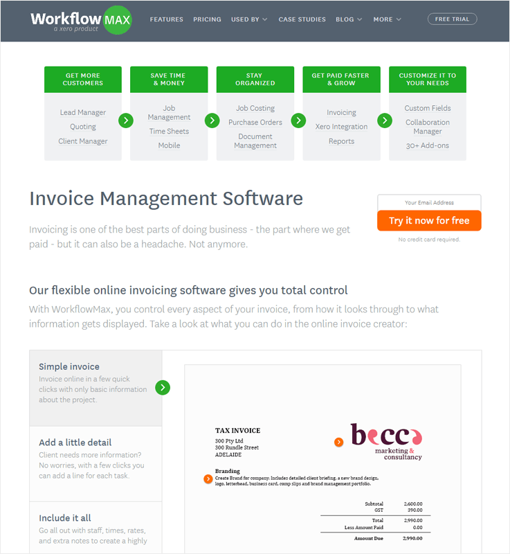 WorkFlowMax Automated Invoice Processing Software