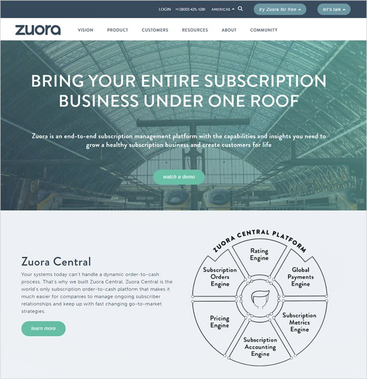 Zuora - Subscription Billing Software
