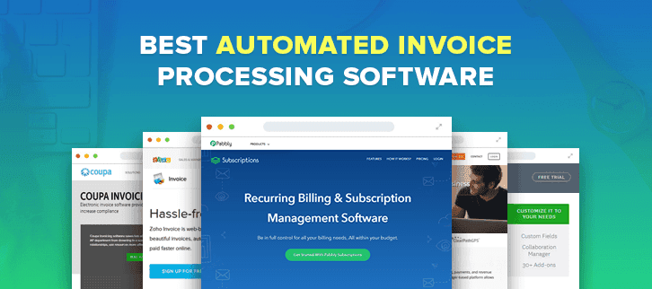 Best Automated Invoice Processing Software FormGet - Invoice automation software