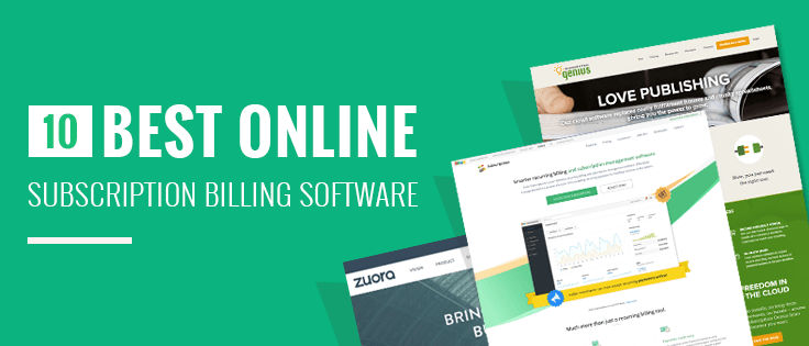 10+ Best Online Subscription Billing Software