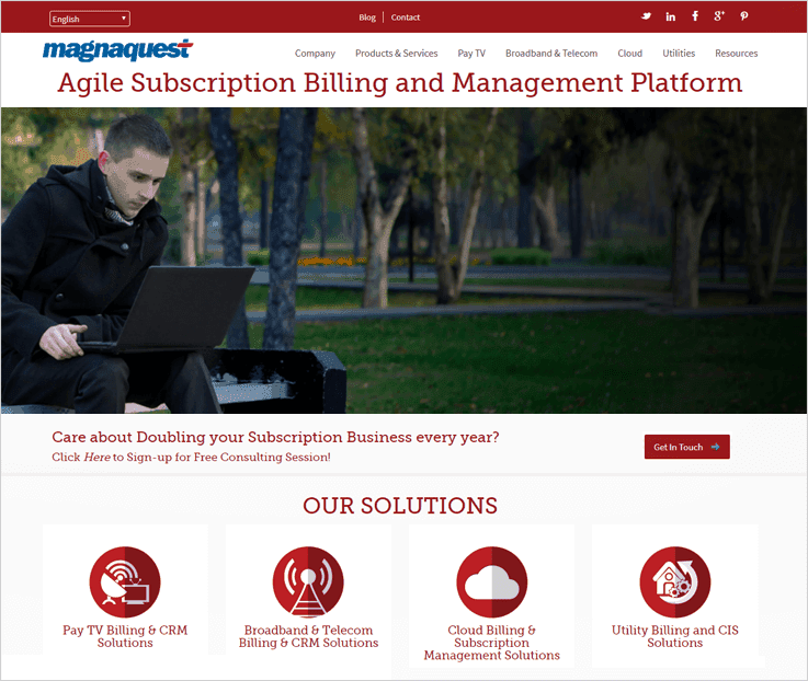 Magnaquest Subscription Billing Software