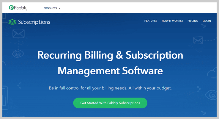 Pabbly Online Subscription Billing Software