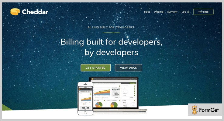 Dunning Management Software by Cheddar