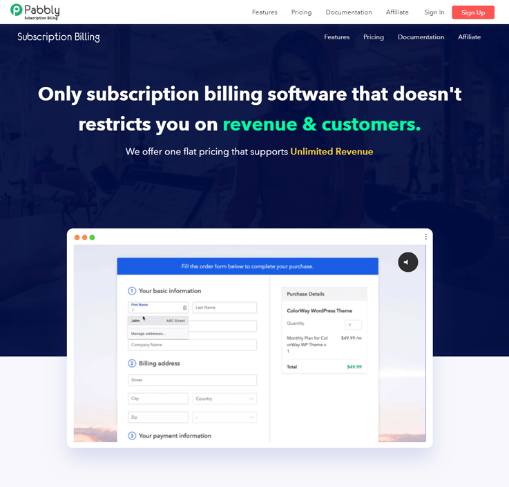 Pabbly Subscription Billing