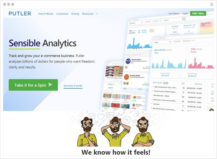 Putler-Best-Subscription-Business-Analytics