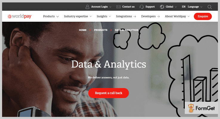 WorldPay Data Analytics for Payment Processing Analytics Tool To Reduce Churn