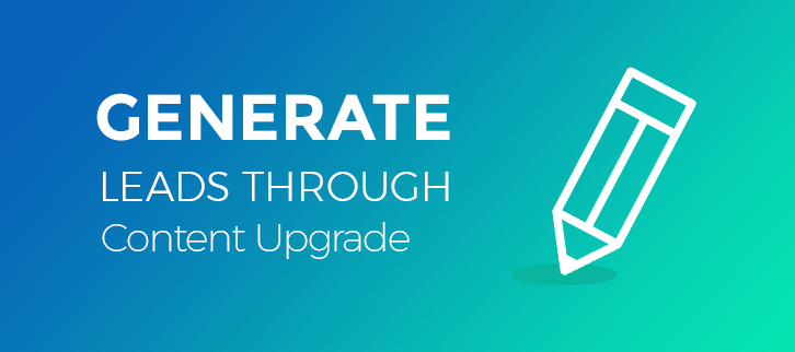 How we generated 1,56,561 Leads through content upgrade