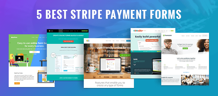 5 Best Stripe Payment Forms