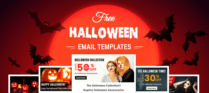 5 free halloween email templates best newsletters for email marketing - Free Halloween Templates