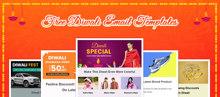 5 Free Diwali Email Templates : Increase Your Sales During Diwali