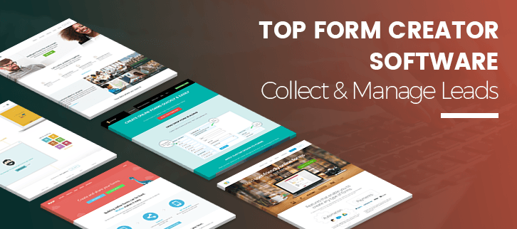 5+ Top Form Creator Software | Collect & Manage Leads At One Place