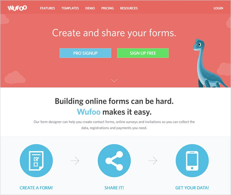 Wufoo Tools To Create Forms