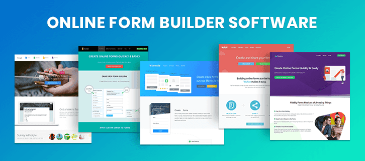 Online Form Builder Software