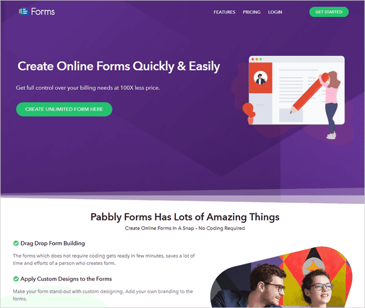 Pabbly Forms Form Builder