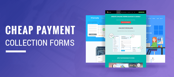 5+ Cheap Payment Collection Forms | Accept PayPal & Stripe