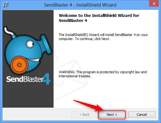 sendblaster key