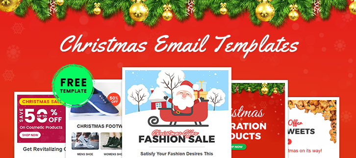 5 Free Christmas Email Templates [Fully Customizable + Responsive]