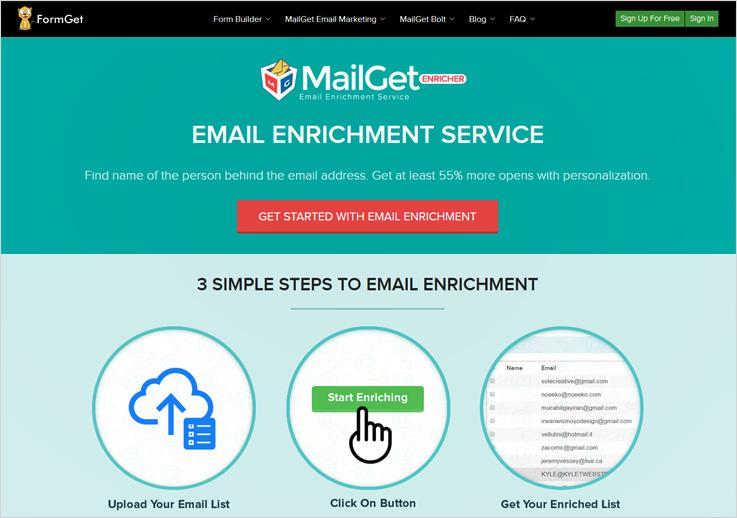 Mailget-Enricher-find-linkedin-profile-by-email