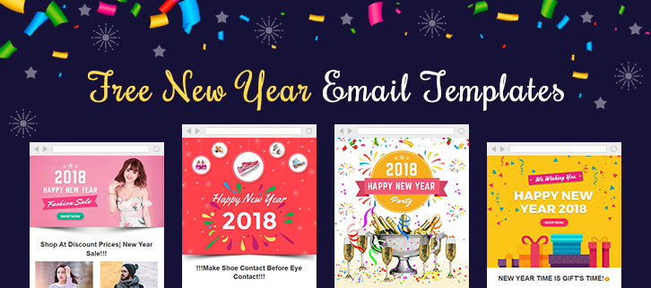 New Year Email Template | 6 Free New Year Email Templates 500 Newsletter 0 Download