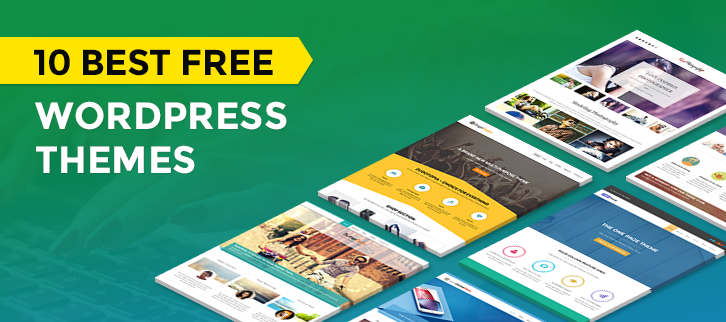 10 Best Free WordPress Themes 2018