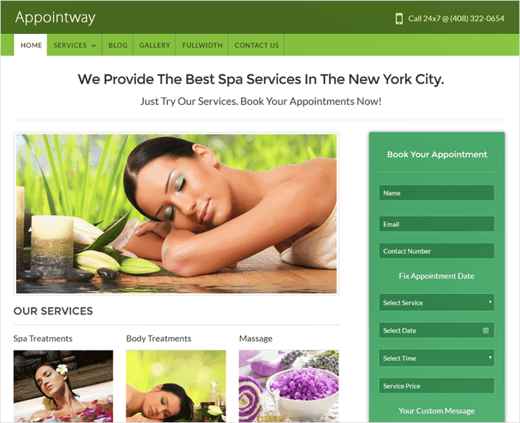 AppointWay Responsive WordPress Theme