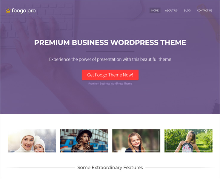 Foogo pro best business theme