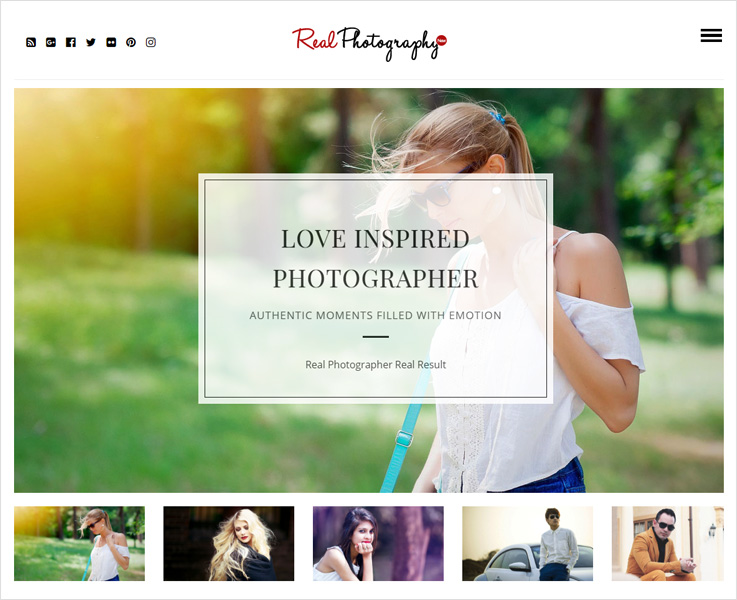 real photography wp theme