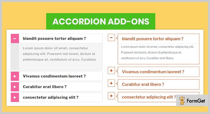 Accordion add-ons Accordion Plugins