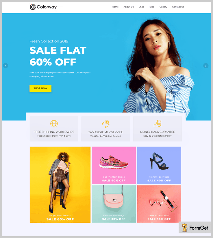 Colorway - Clothing WordPress Theme