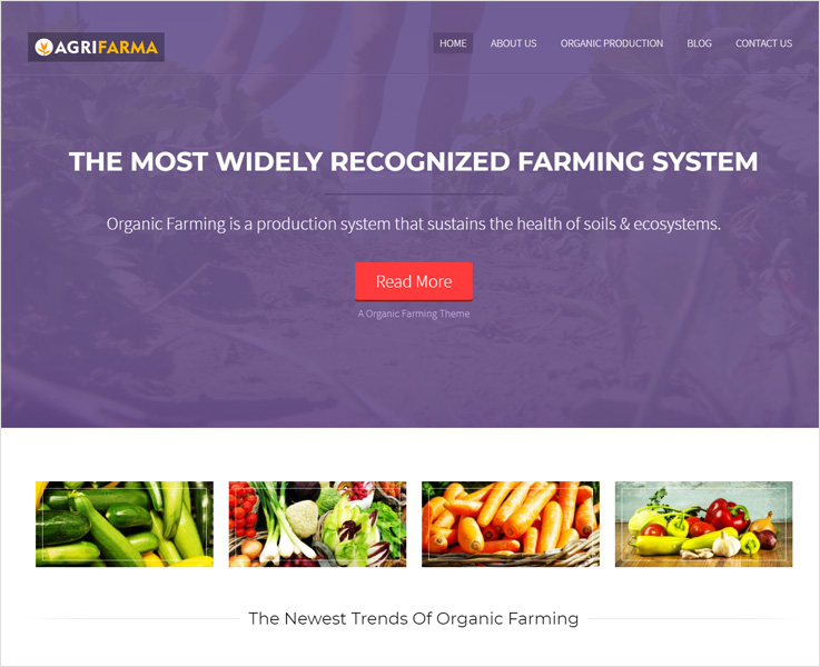 agrifarma business wordpress theme