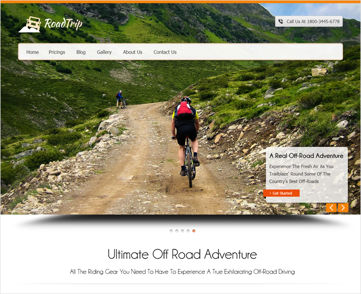 Roadtrip WordPress theme