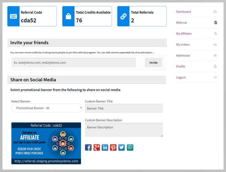 WooCommerce Multilevel Referral Affiliate plugin - Refer a friend plugin
