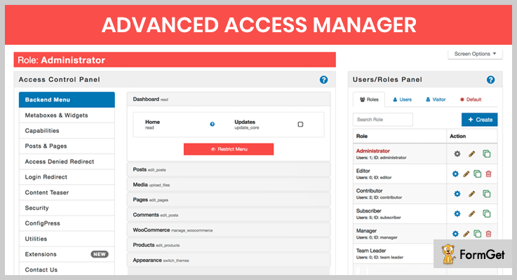 advanced-access-manager-user-access-manager-wordpress-plugins