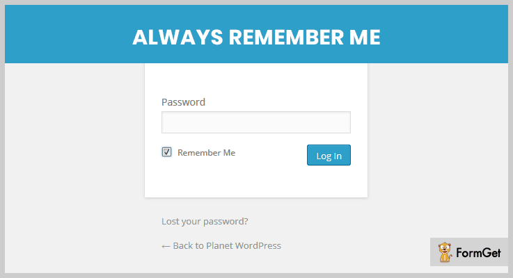 always-remember-me- WordPress Checkbox Plugins