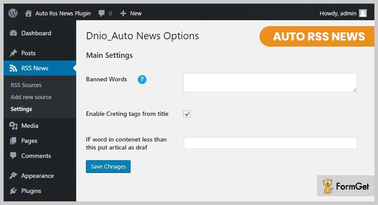 Auto RSS News