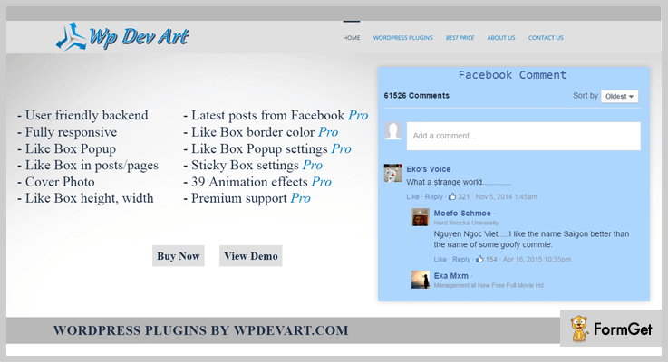 Facebook comments WordPress-Facebook WordPress-Plugins